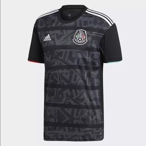 Mexico National Soccer Home Jersey 2019 Gold Cup